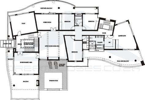 contemporary house plans ultra modern house plans house