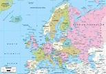Map Of Europe Google Maps - HolidayMapQ.com
