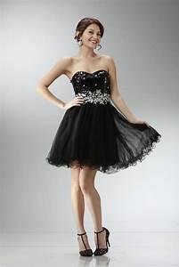 Short Black Prom Dresses Under 100 - Dress FA