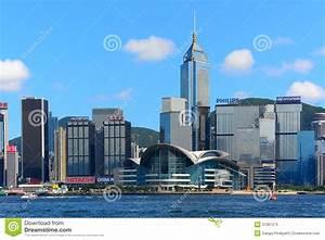Landmarks of hong kong editorial image. Image of district ...