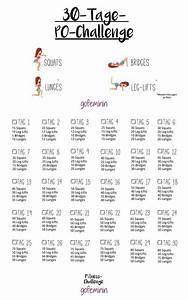 30 Tage Fitness : 30 tage po challenge in einem monat zu einem knackigeren po 30th workout and exercises ~ Frokenaadalensverden.com Haus und Dekorationen
