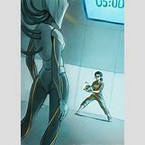 Portal 2 Chell And Glados   400 x 565 jpeg 31kB