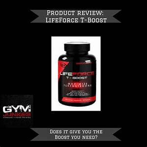 Lifeforce T-boost Review