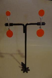 spinner targets welding projects field target shooting targets