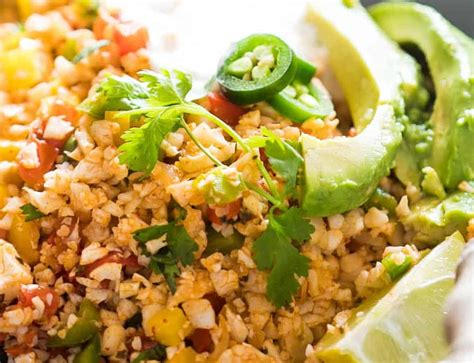 It's full of juicy seasoned ground turkey, leafy green spinach and the right amount of cheesy goodness. Keto Dinner | Low Carb Mexican Cauliflower Rice ...