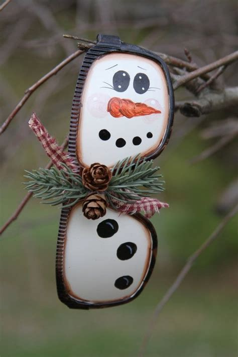 recycled craft ideas  christmas tree ornaments