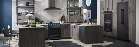The Appeal Of Black Stainless Steel Appliances Gringos Mexican Kitchen Canisters Small Portable Island The Millbrae Yellow Kitchens Ninja Recipes Ceramic Tile How To Clean Cabinets Wood