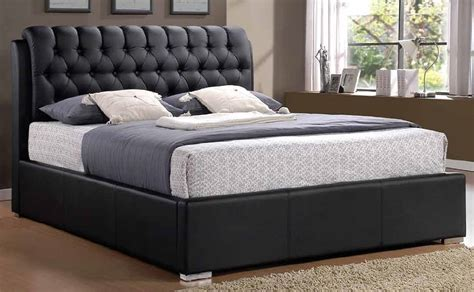 Leather Bed by Leather Bedframe Bed Frame Brown Faux Leather Dreams