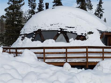 Geodesic Dome Cabin At 9,200 Feet On Buffalo Mountain