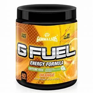 Gamma Labs G Fuel Orange Caffeine Gfuel 40 Servings For Sale Online