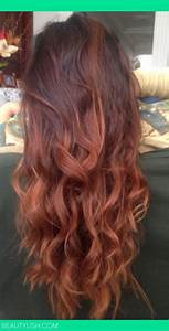 auburn ombre | Beauty | Pinterest | Ombre hair color ...