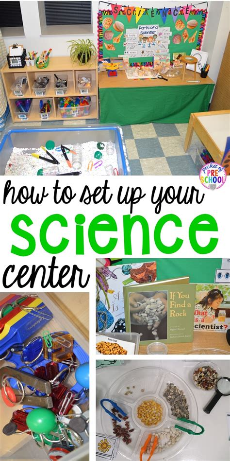 how to set up the science center in your early childhood 444   Slide9
