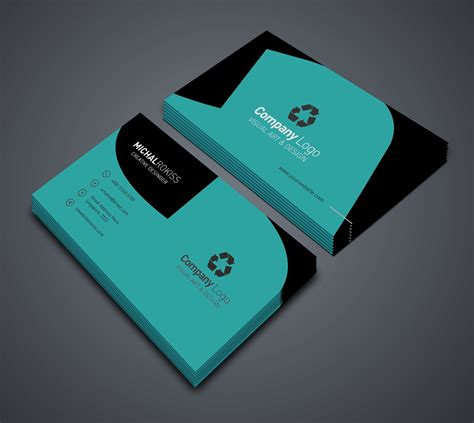 design  professional business card   business
