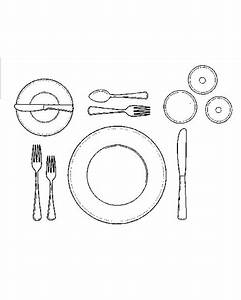 Basic Table Setting Diagram  U0026 Fine Dining Table Setting