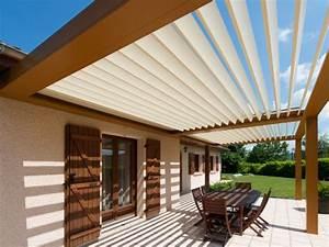 Construire Pergola Bois : construire sa pergola bioclimatique ~ Preciouscoupons.com Idées de Décoration