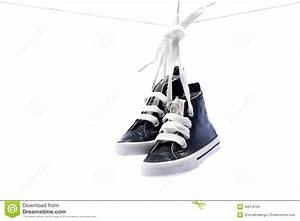 Sport Baby Shoes Hanging Stock Photo - Image: 40674729