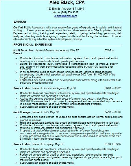 Cali Awards On Resume by Resume Format For Quality Auditor