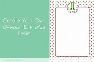 Create your own elf letter pic monkey tutorial a for Design your own letters