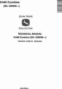 John Deere C440 Combine  Sn  020000