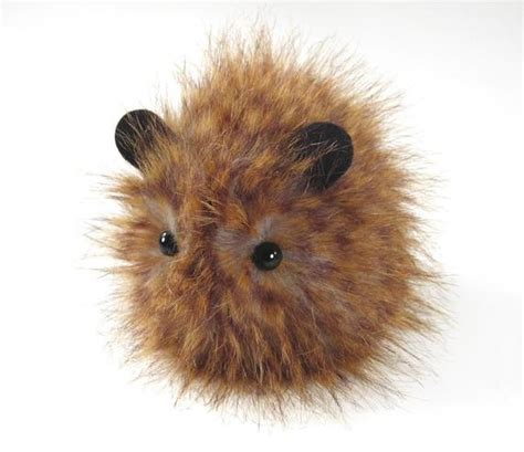warm fuzzy speckles small stuffed guinea pig plushie