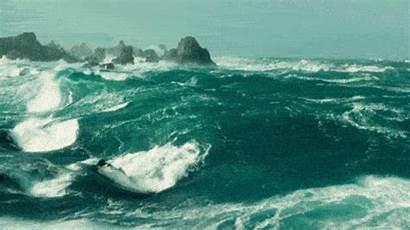 Wave Gifs Ocean Calm Waves Down Serene