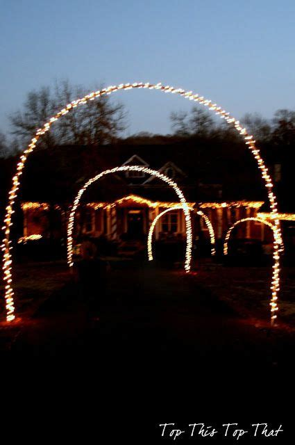 christmas driveways on pininterest awesome driveway arch best home decorating ideas