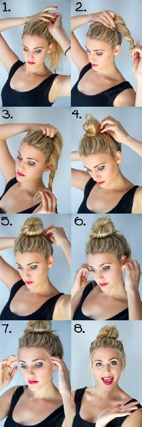 5 cute easy hairstyles for each day of the week mashoid