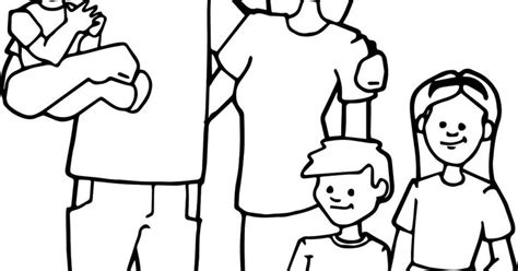 coloring family worksheet    images family