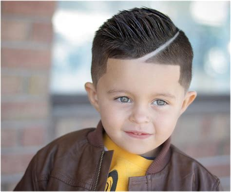 Cool 15 Lofty Line-up Haircuts For Boy