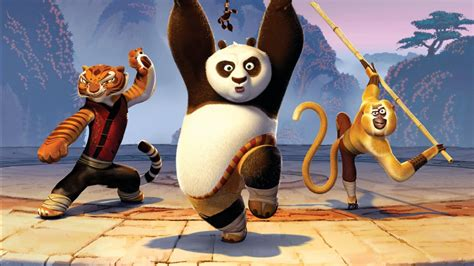 kung fu tigress panda monkey wallpapers hd wallpapers