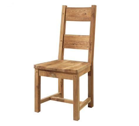 chaise chene massif chaise chêne massif huilé quot lodge casita quot 704