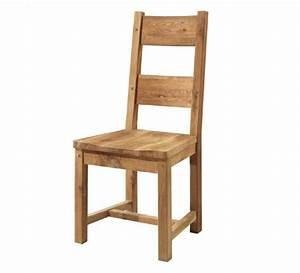 Chaises Originales Salle A Manger : chaise ch ne massif huil lodge casita 704 ~ Teatrodelosmanantiales.com Idées de Décoration