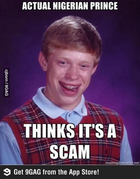 Scam Meme - image 510834 nigerian scams know your meme