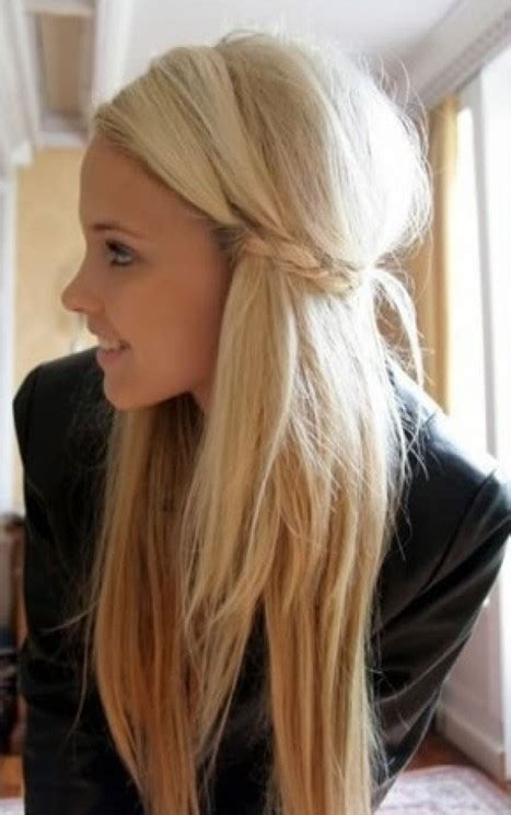 cute simple easy hairstyle for girls pretty designs