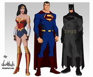 Trinity Movie Young Justice Style by dark-BuB on DeviantArt