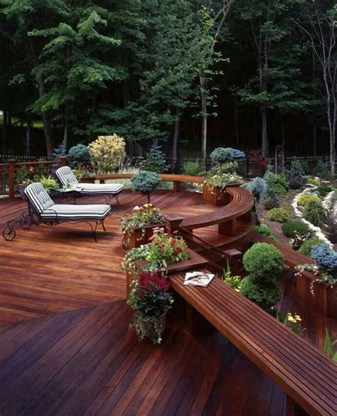 awesome decks awesome deck outdoor spaces pinterest