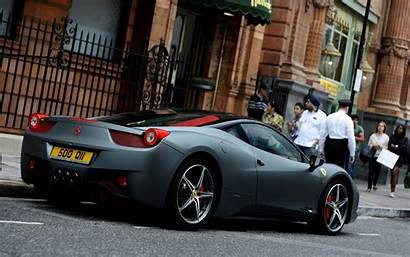 Ferrari 458 Italia Cars Matte Wallpapers Grey