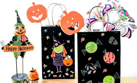 Make Your Own Halloween Diy Trick Or Treat Bags Ooly