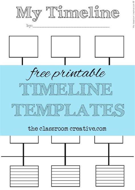 printable timeline templates theclassroomcreativecom
