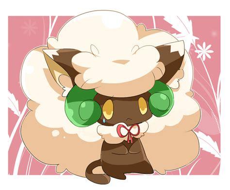 whimsicott pokemon zerochan anime image board