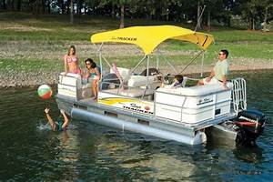 Research Sun Tracker PARTY BARGE 18 Signature Series ...