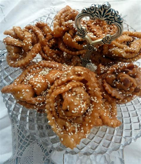 cuisine de ratiba chabakia marocaine ou griwech gateau algérien le de