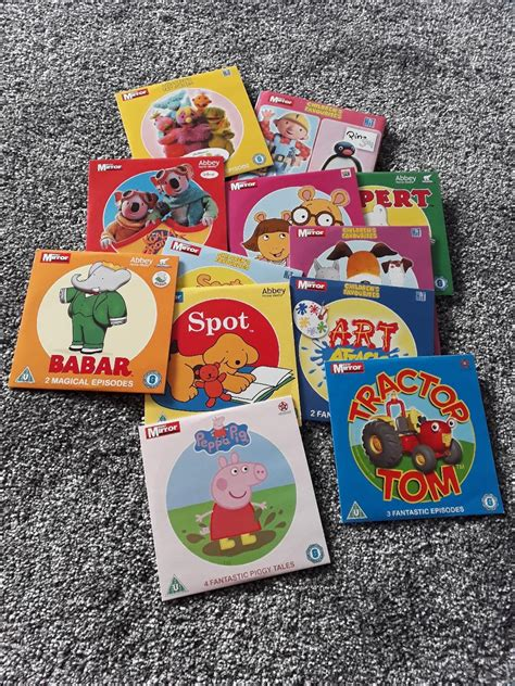 12 Children's dvd's in SS7 Point for £3.00 for sale   Shpock