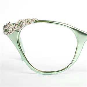 vintage cat eye glasses vintage mint green tura cat eye glasses