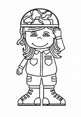 Soldier Coloring Army Pages Cartoon Printable Inspiring Info Ecolorings Px Resolution sketch template