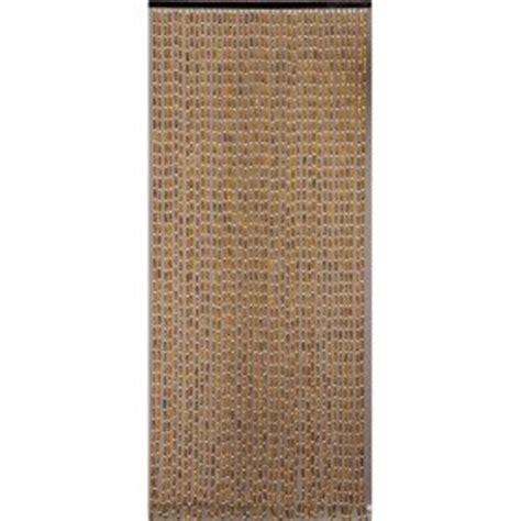 rideau de porte perles olives en bois 90x200 cm amazon