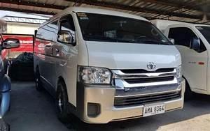 2015 Model Toyota Hiace Gl Grandia Mt Diesel
