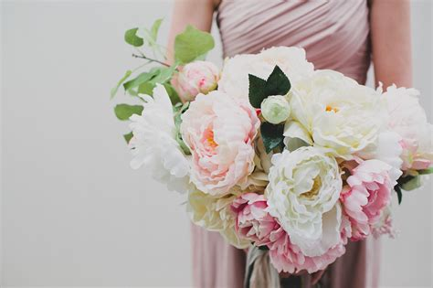 diy silk flower bouquet  afloral green wedding shoes