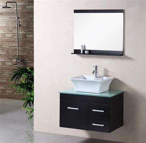 Stylishly Simple  Minimalist Wall Mounted Bathroom Vanities