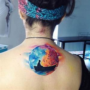 30 Gorgeous Watercolor Tattoos By Adrian Bascur - TattooMagz